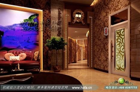 浙江省宁波市名角女士养生会所_沙龙装修_哈发时尚网