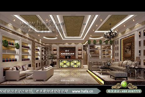 云南省弥勒茗妍美容养生会所在传统的欧式风格基础上,加入了一些现代