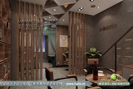 沙龙装修 美发店装修设计 江苏省徐州市剪飞扬美发养发生活馆  是第