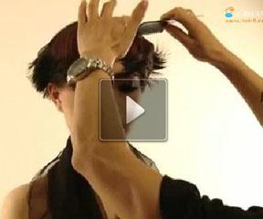 承艺2012最新发型趋势----绽蕊(花絮篇)